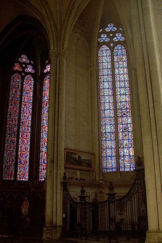 Витражи, Амьенский собор, Амьен, Франция