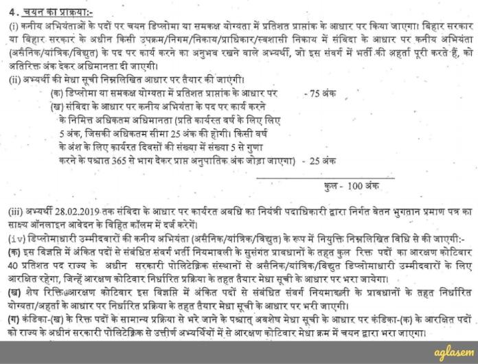 BSTC JE Result 2019