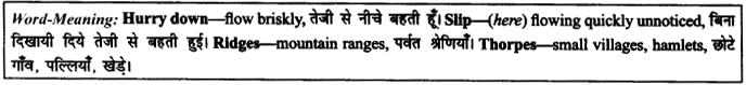 NCERT Solutions for Class 9 English Literature Chapter 6 The Brook 7