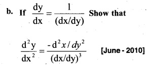 Plus Two Maths Chapter Wise Previous Questions Chapter 5 Continuity and Differentiability 34