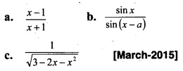 Plus Two Maths Chapter Wise Previous Questions Chapter 7 Integrals 21