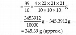 NCERT Solutions for Class 9 Maths Chapter 13 Surface Areas and Volumes Ex 13.8 Q3a