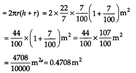 NCERT Solutions for Class 9 Maths Chapter 13 Surface Areas and Volumes Ex 13.6 Q6b
