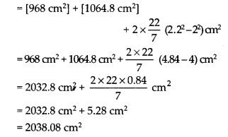 NCERT Solutions for Class 9 Maths Chapter 13 Surface Areas and Volumes Ex 13.2 Q3b
