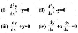 Plus Two Maths Chapter Wise Previous Questions Chapter 9 Differential Equations 6