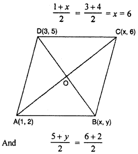 RBSE Solutions for Class 10 Maths Chapter 9 Co-ordinate Geometry Q.19