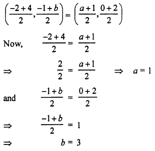 RBSE Solutions for Class 10 Maths Chapter 9 Co-ordinate Geometry Q.7