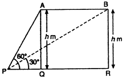RBSE Solutions for Class 10 Maths Chapter 8 Height and Distance 3Q.20.1
