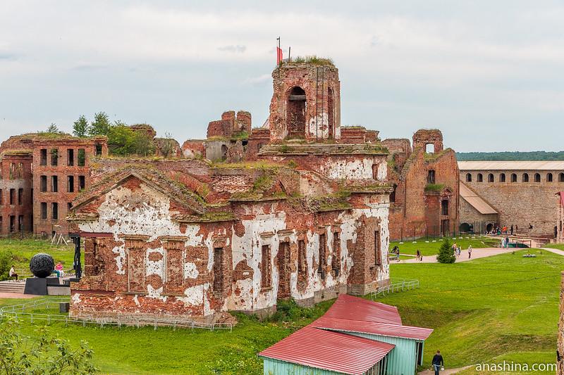 Иоанновский собор, крепость Орешек