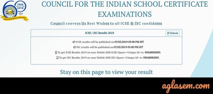 CISCE Result 2019