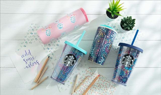 Starbucks_Vera Bradley + Starbucks Collection