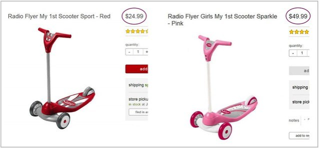 Pink Tax - Radio Flyer