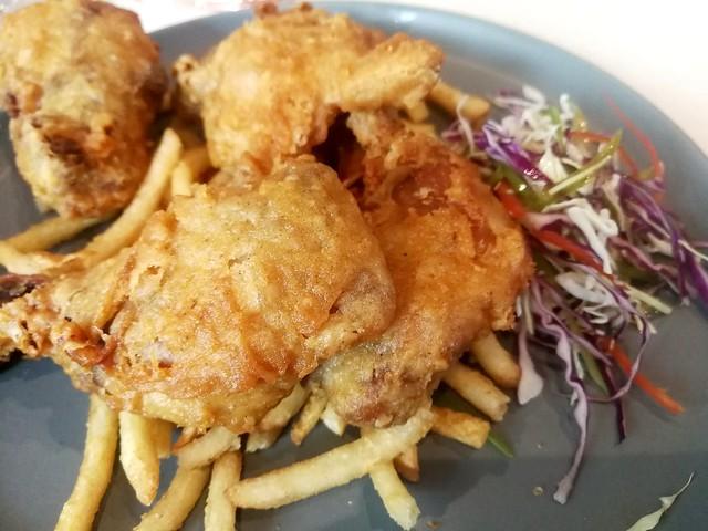 Caffe Freddo fried chicken