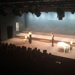 Platonov et Maria Grekova, dernier acte. 4e représentation. #platonov #tchekhov #théâtre #atea2019