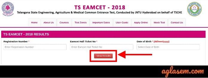 TS EAMCET 2019 Result