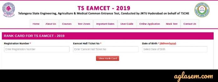TS EAMCET 2019