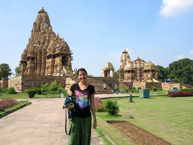 Templos eróticos de Khajuraho