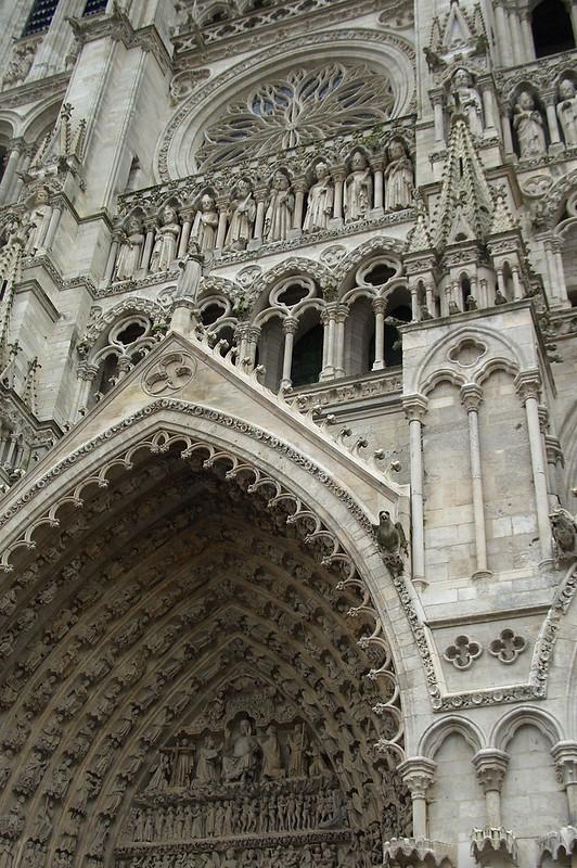 Западный фасад Амьенского собора, Франция