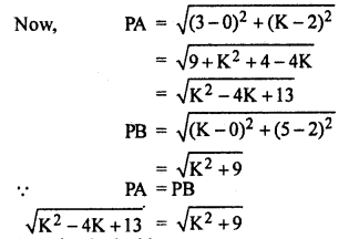 RBSE Solutions for Class 10 Maths Chapter 9 Co-ordinate Geometry Q.13