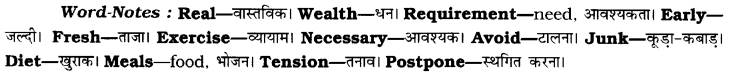 CBSE Class 8 English Composition Based on Verbal Input 1