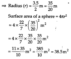 NCERT Solutions for Class 9 Maths Chapter 13 Surface Areas and Volumes Ex 13.4 Q2b