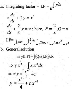 Plus Two Maths Chapter Wise Previous Questions Chapter 9 Differential Equations 11