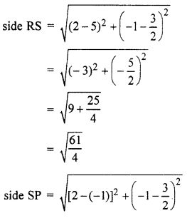 RBSE Solutions for Class 10 Maths Chapter 9 Co-ordinate Geometry 4Q.7.4