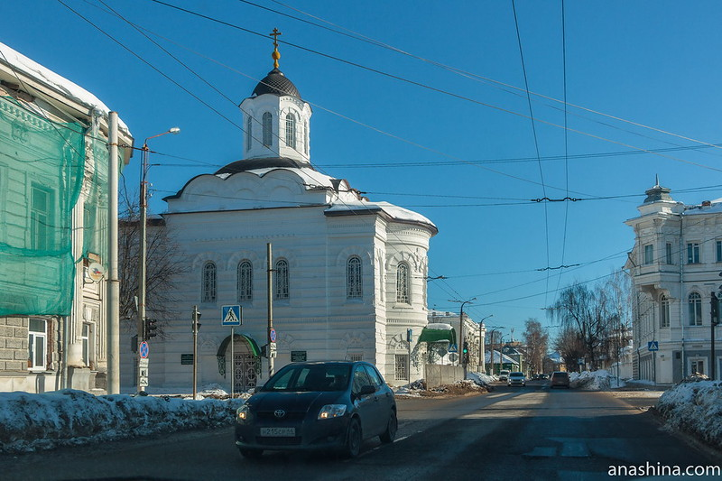 Храм в честь Смоленской иконы Божией Матери, Кострома
