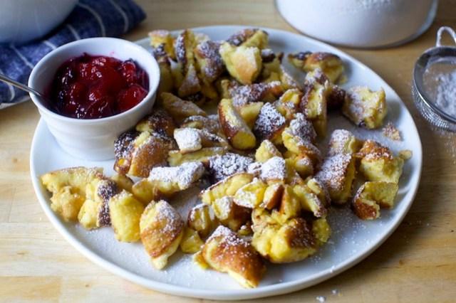 kaiserschmarrn (austrian shredded pancake)