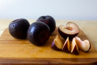 plums for compote