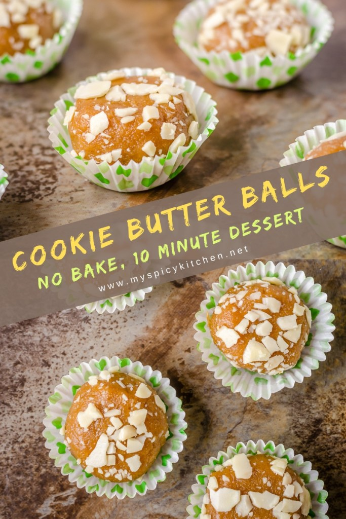 An addictive cookie butter balls with Parle G glucose biscuits and Gingersnap cookies.  It is 5 ingredient 10 minutes recipe.