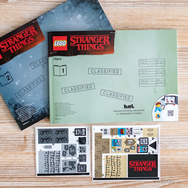 REVIEW LEGO 75810 Stranger Things 07