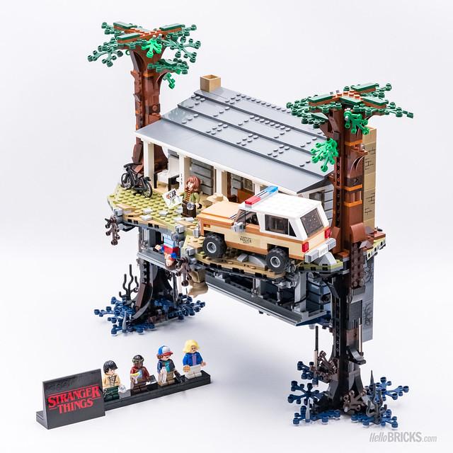 REVIEW LEGO 75810 Stranger Things 04