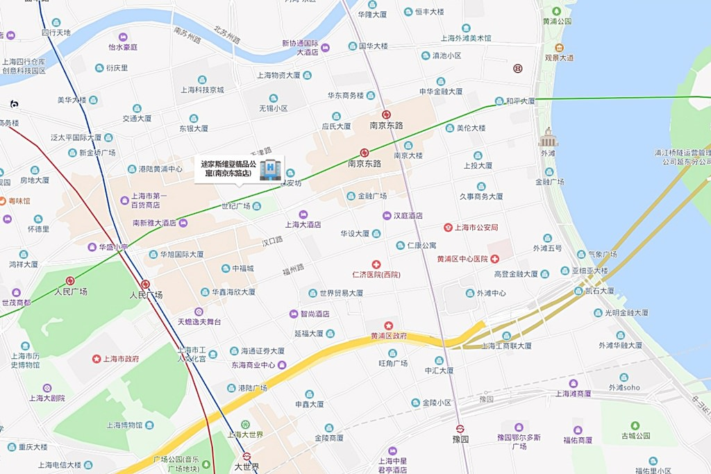 Tujia Sweetome Boutique Apartment Map