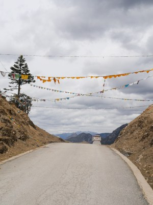 The start of a descent from about 4000m to just under 3000m. That moment when you feel the gradient of the road change from up to down and 50kg of bike/luggage do your acceleration for you instead of make every few feet a struggle.