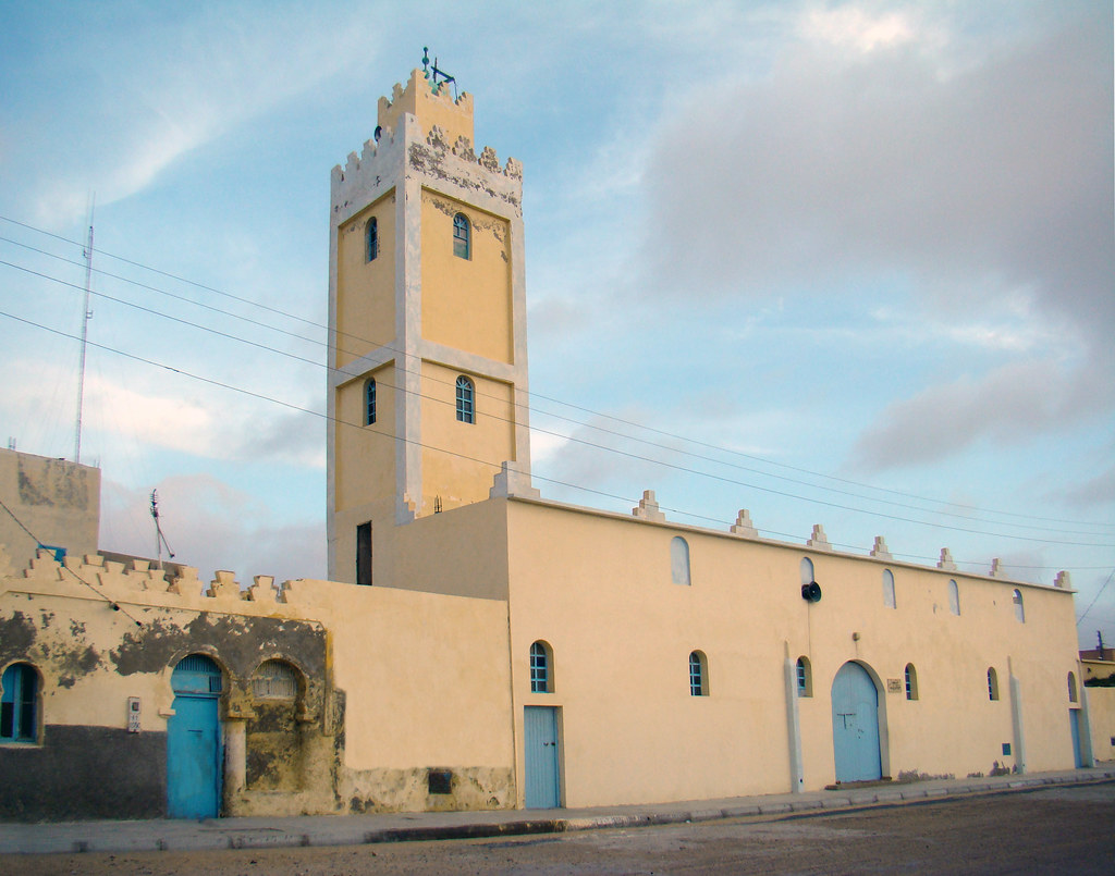 ciudad Tarfaya Mezquita Desierto del Sahara 23