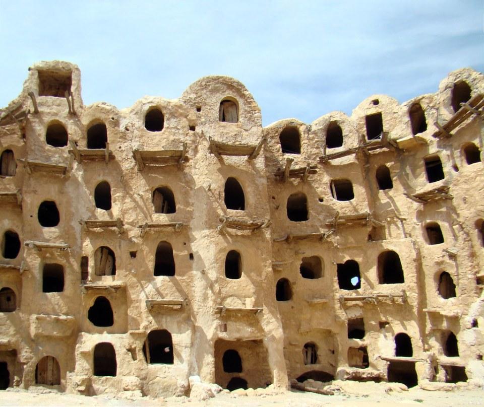 Granero de Ksar Nalut Libia 09
