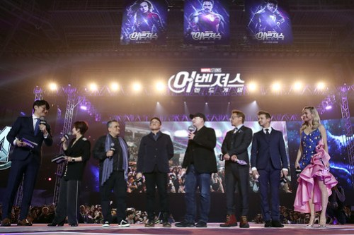 Marvel Studios' 'Avengers: Endgame' South Korea Premiere - Fan Event In Seoul