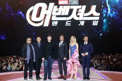 Marvel Studios' 'Avengers: Endgame' South Korea Premiere - Fan Event In Seoul