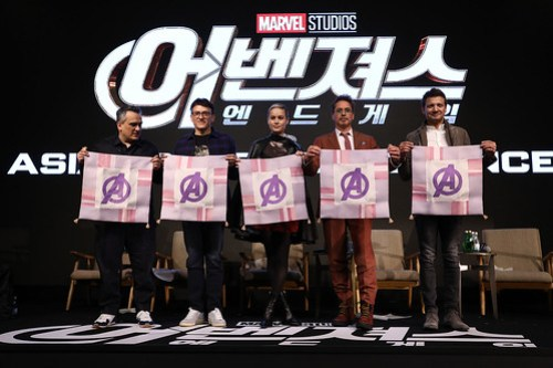 Marvel Studios' 'Avengers: Endgame' South Korea Premiere - Press Conference In Seoul