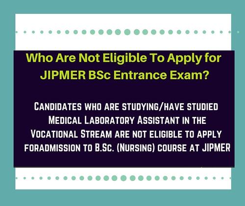 JIPMER eligibility