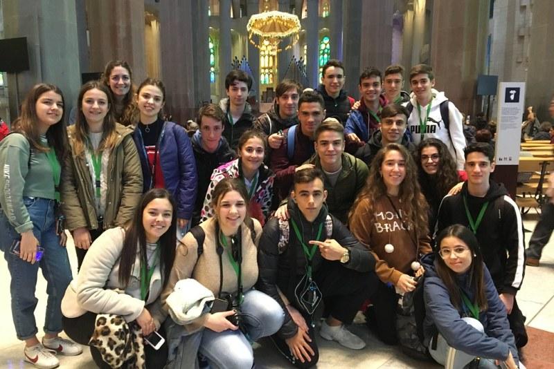 Viaje 1º Bachillerato a Barcelona