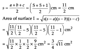 NCERT Solutions for Class 9 Maths Chapter 12 Heron's Formula Ex 12.2 A3