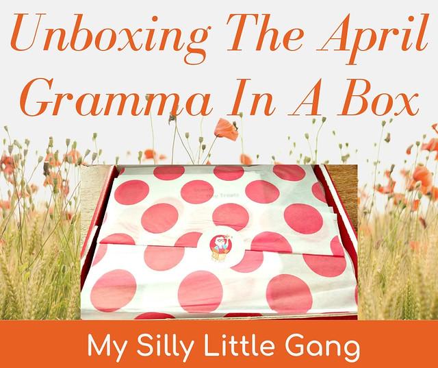 Unboxing The April Gramma In A Box @SMGurusNetwork #GrammaInABox #subscriptionbox #MOMDADGRAD19