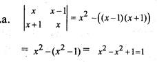 Plus Two Maths Chapter Wise Previous Questions Chapter 4 Determinants 5