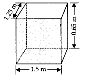 NCERT Solutions for Class 9 Maths Chapter 13 Surface Areas and Volumes Ex 13.1 Q1