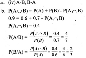 Plus Two Maths Chapter Wise Previous Questions Chapter 13 Probability 11