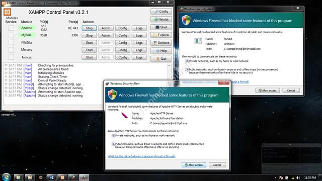 9 Xampp Install