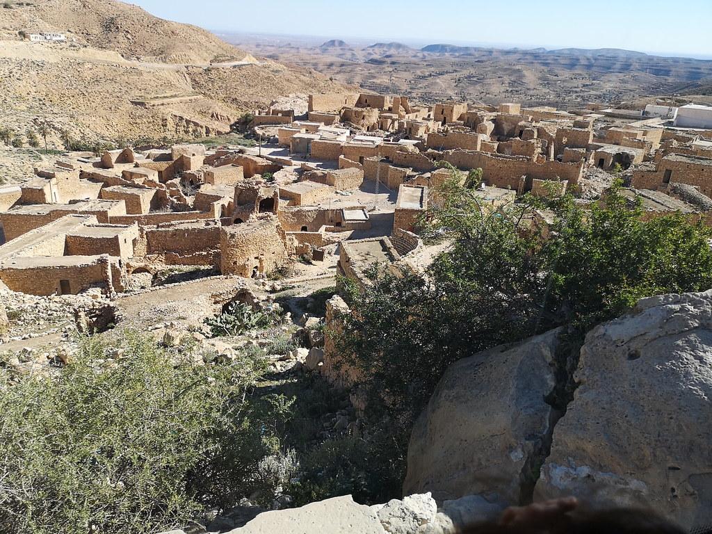 vista casas de Toujane Tunez 02