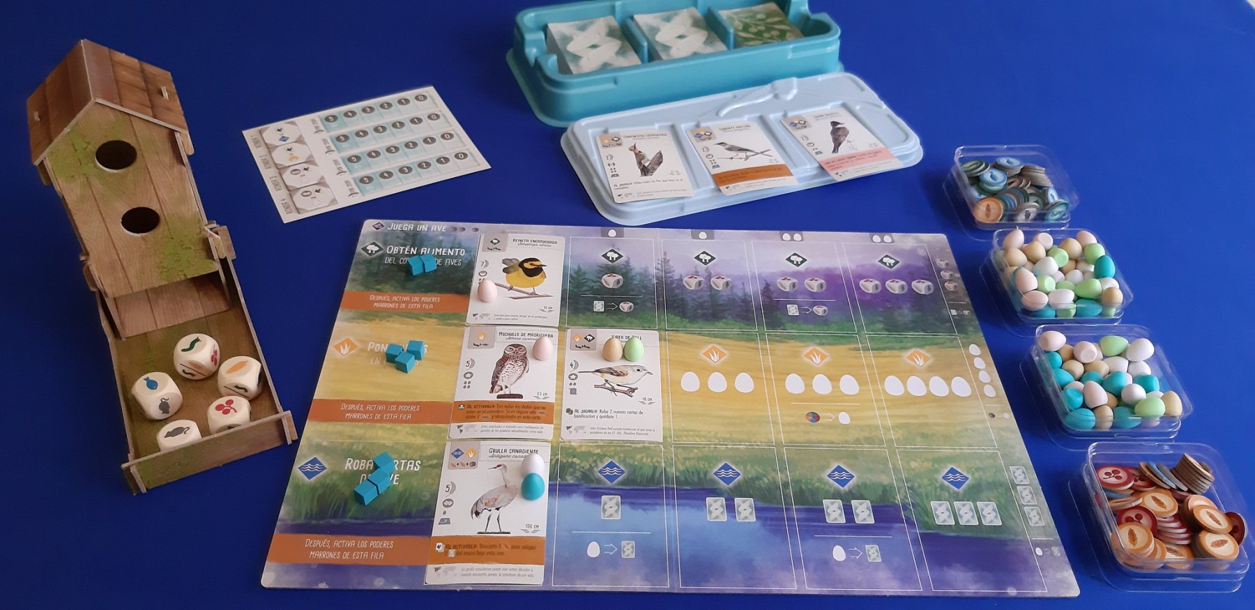 Wingspan juego de mesa